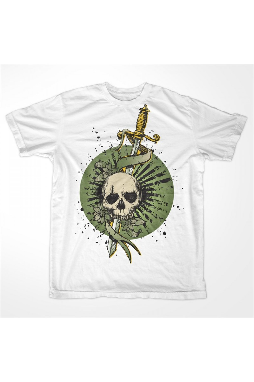 Skulls Men Printed T-shirt 0020